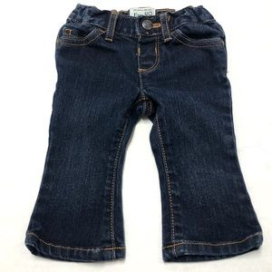 5/$25 Children's Place baby bootcut jeans 6-9 0284